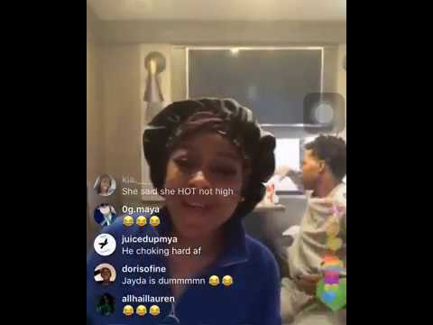 Download JAYDA AND LIL BABY on Instagram LIVE! Mp4 HD Video and MP3