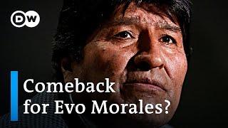Bolivia's Evo Morales: Political comeback despite arrest warrant?   DW News
