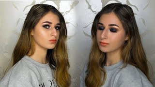 New Years Eve Navy Half Cut Crease Makeup Tutorial! - Video Youtube