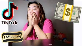 This is How Much Tik Tok Paid Me for 1,000,000 Views | Tik Tok Creator Fund