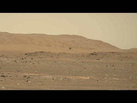Listen to the Mars Helicopter in Flight