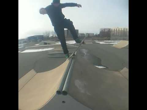 Quincy and winthrop skate park sesh