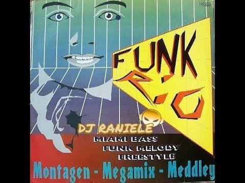 MIX LP FUNK RIO (Montagem-Megamix-Meddley) 1994 By RANIELE DJ