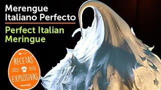 Merengue italiano - Perfecto - Recetas Explosivas