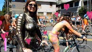 Fremont WA Naked Solstice Parade (2017)