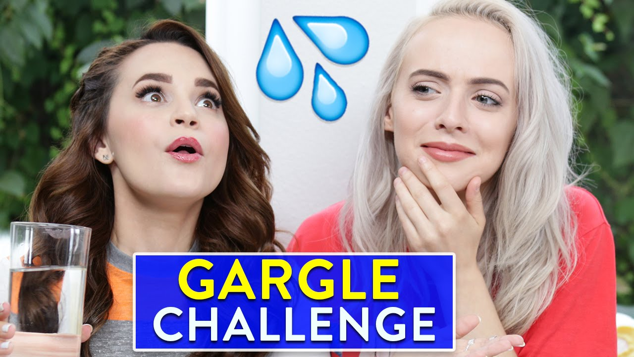 SINGING GARGLE CHALLENGE ft Madilyn Bailey thumbnail
