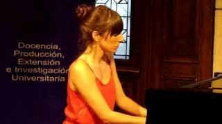 Schumann: Davidsbündlertänze op.6 -  Heft II (Parte II), 5. Zart und singend - Georgina García Fazio