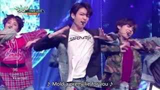 BTS (방탄소년단) - FAKE LOVE [Music Bank HOT STAGE / 2018.06.08]