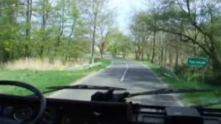 preview picture of video 'Ćwiczenia Las 2009 - przejazd z punktu czerpania cz.1'