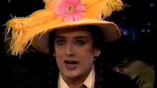 Boy George Interview Jay Leno 10/13/1995