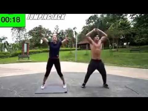 Menari untuk video penurunan berat badan untuk berlatih di rumah