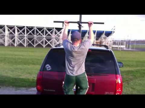 Mobile Pull Up Bar | FitHitch.com