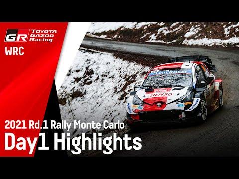 トヨタGazooRacing WRC 2021 Day1のハイライト動画