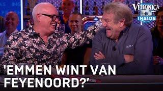 Toto-voorspelling: 'Emmen wint van Feyenoord? Pleur op joh!' | VERONICA INSIDE