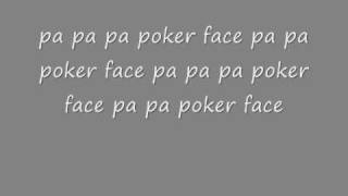 Me Singing Poker Face ( with lyrics ) The Chris Daughtry Version