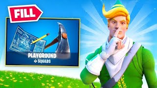 Fortnite But it's Playground Fill