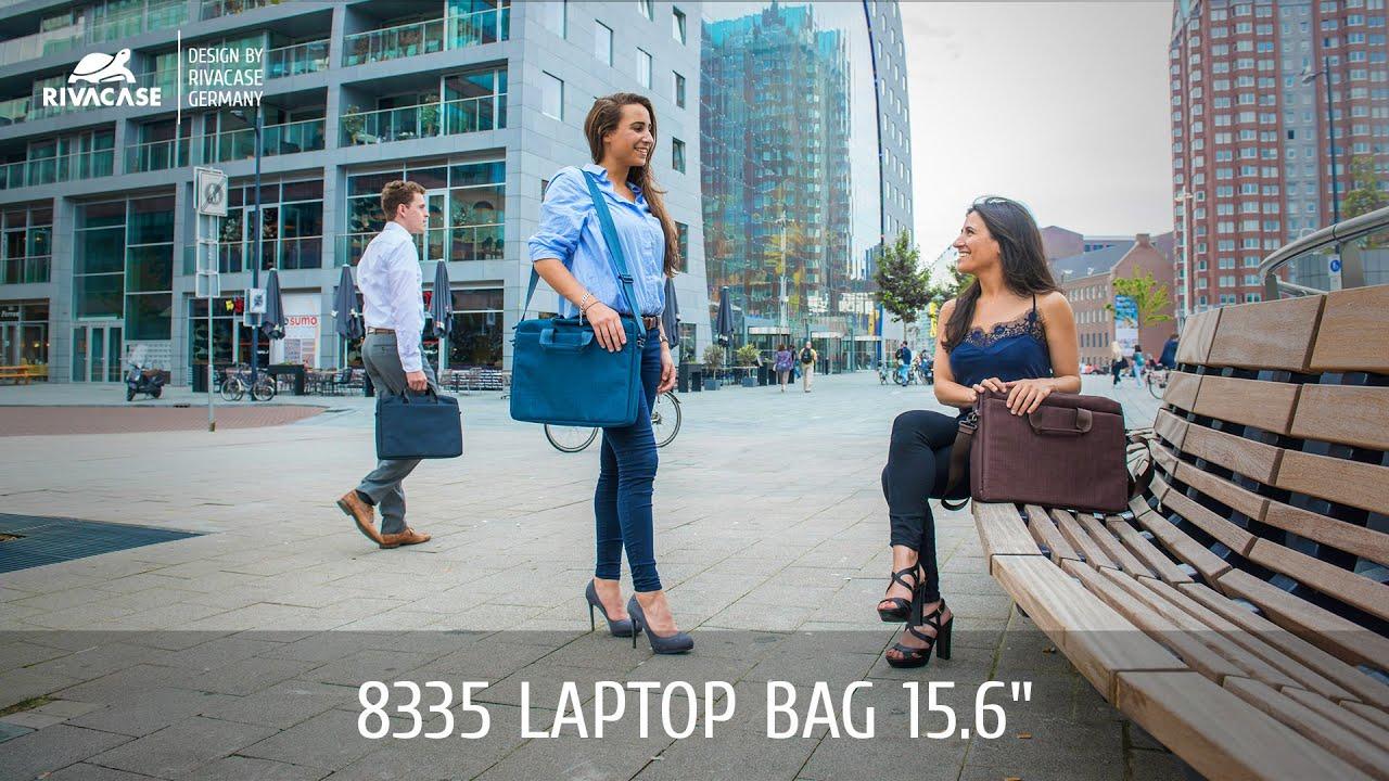 "Сумка RivaCase 8335 для ноутбука 15,6"" (Black) video preview"