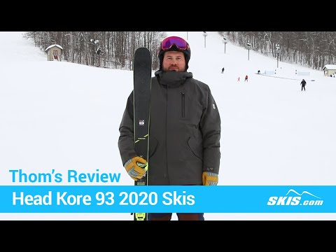 Video: Head Kore 93 Skis 2020 20 50