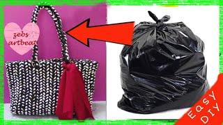 DIY| The Basket Bag from Plastic !