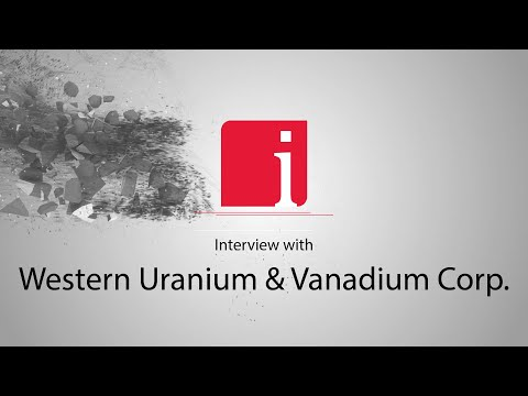 George Glasier on Western Uranium & Vanadium's Sunday Mine Complex and Trump's $1.5 billion plan to establish a U.S. uranium reserve