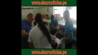 Tocache: Sereno se salva de morir tras ser agredido a machetazos