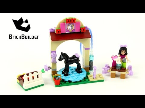 LEGO Friends 41123 pas cher Le toilettage du poulain
