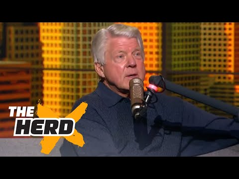 Jimmy Johnson joins Colin to talk 2016-17 Cowboys, Dak Prescott and more | THE HERD (FULL INTERVIEW)