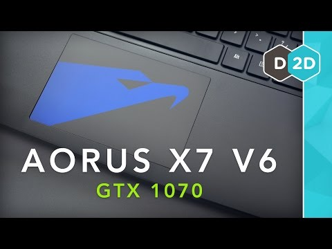 Aorus X7 V6 (GTX 1070) Review – The Best Thin 17″ Gaming Laptop?!