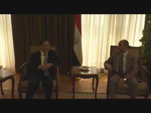 لقاء الوزير بالسفير الصيني