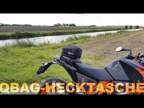 Günstige Hecktasche für´s Motorrad   Piotrrr Moto
