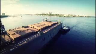 """H"" - Flying FPV over Water - Aerial Video of Peanut Island - GoPro Hero3"