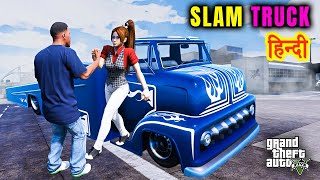 GTA 5 - DRIVING SLAMTRUCK WITH TINA