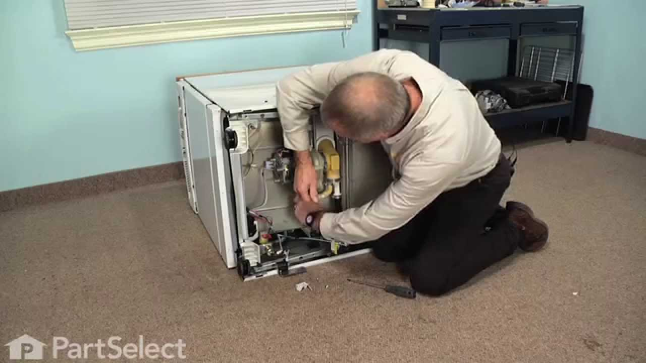 Replacing your General Electric Dishwasher Push On Nut