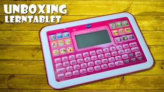 Unboxing VTech Preschool Colour Lerntablet, Lerncomputer Spielzeug 5-7 Jahre