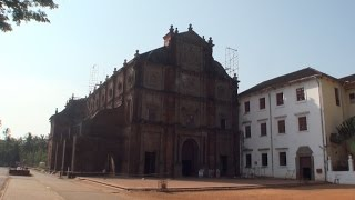 Basilica of Bom Jesus in Old Goa