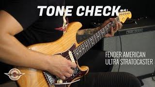 TONE CHECK: Fender American Ultra Stratocaster Guitar Demo | No Talking