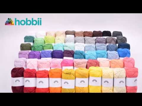 Rainbow Cotton 8/8 - Pastell Gul (053) | Farge