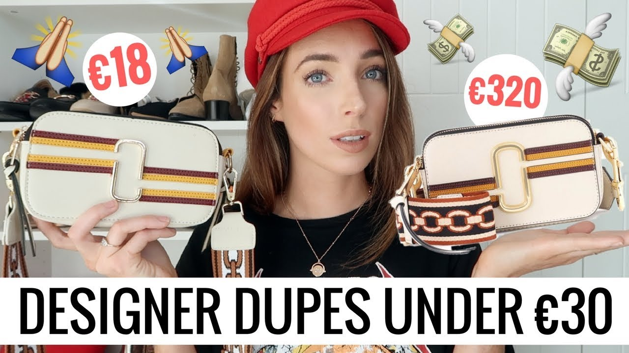 5 DESIGNER DUPE BAGS UNDER €30! 👜 GUCCI, CHLOE, MARC JACOBS & MORE | CIARA O DOHERTY