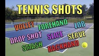 8 Basic Tennis Shots Explained
