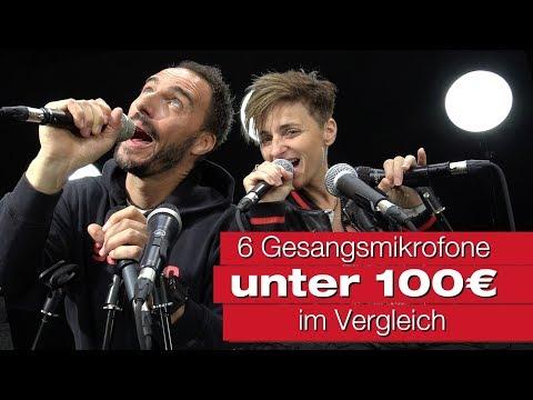 Gesangsmikrofone unter 100 Euro im Vergleich mit Franca Morgano bei session