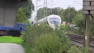 preview picture of video 'Straubing 21.09.2013 Baustellenverkehr mit Baumaschine'