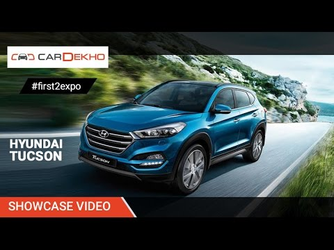 #first2expo : Hyundai Tucson | Showcase Video @AutoExpo2016