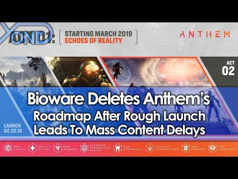 Bioware Deletes Anthem's Roadmap After Rough Launch Leads to Mass Content Delays