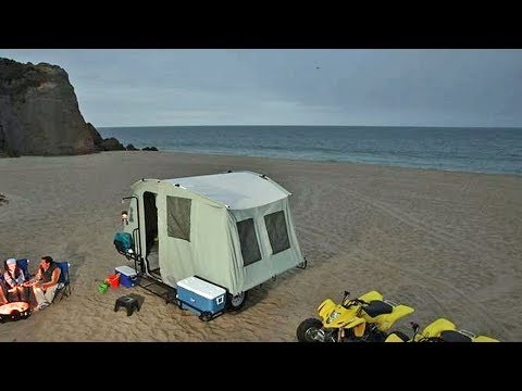 Jumping Jack Off Road Camping Tent Trailer Toy Hau | Youtube