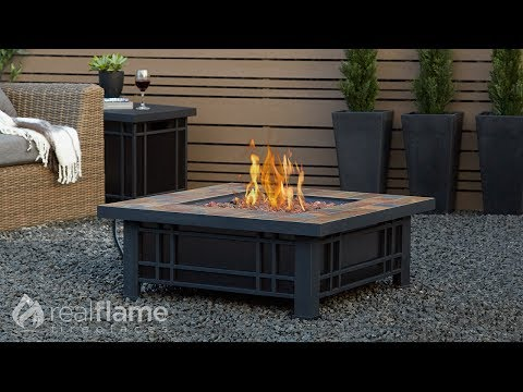 Real Flame - Morrison Propane Fire Pit