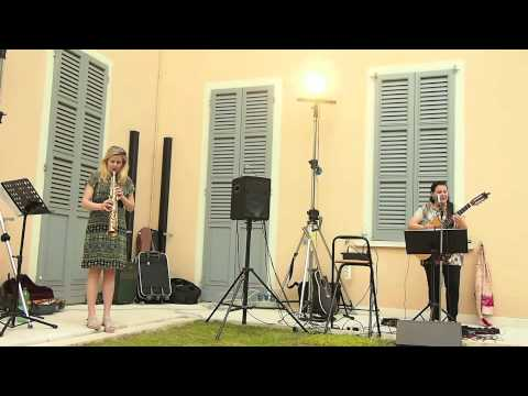 A duet with my good friend, Maria on guitar and me on soprano saxophone