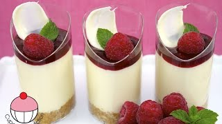 Video Raspberry Dessert Cups with White Chocolate Cheesecake - Recipe by Cupcake Addiction MP3, 3GP, MP4, WEBM, AVI, FLV September 2019