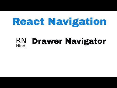 React Native Drawer Navigation | contentComponent | Mobile