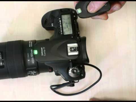 Traumflieger.de - Hähnel Combi TF Funkfernauslöser Canon Blitz + Kamera zugleich