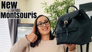 Louis Vuitton New Montsouris PM In Empreinte Unboxing